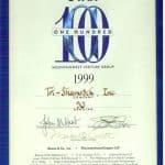 Top 100 Fastest Growing Companies in Utah 1999