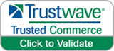 trusted commerce button