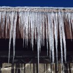 How to get rid of icicles on your roof